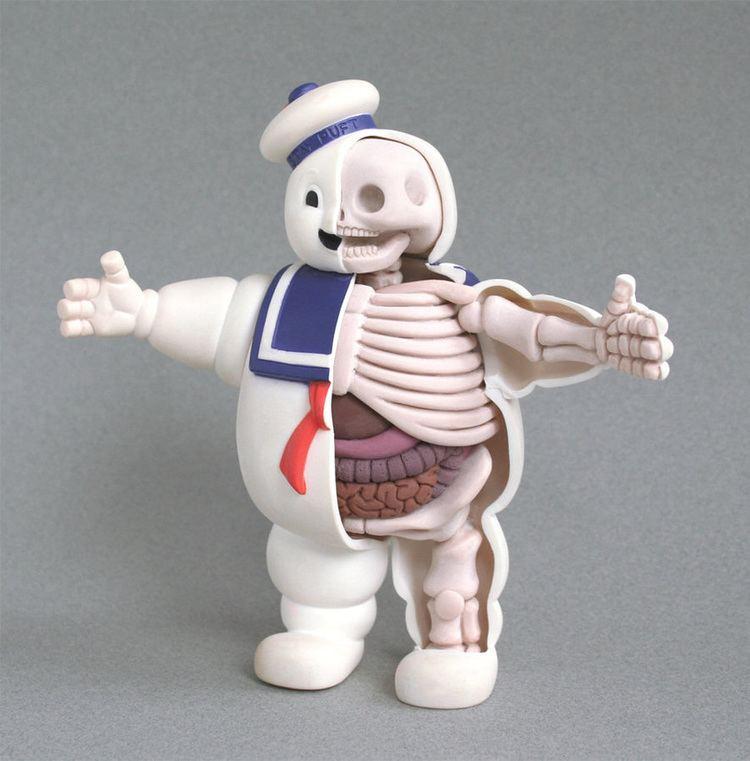 Jason Freeny Character Anatomy Sculptures by Jason Freeny Abduzeedo