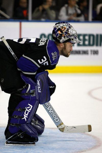 Jason LaBarbera Los Angeles Kings goaltending history Jason Labarbera