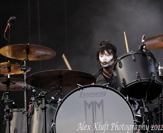 Jason Sutter Jason Sutter of Marilyn Manson Modern Drummer Magazine