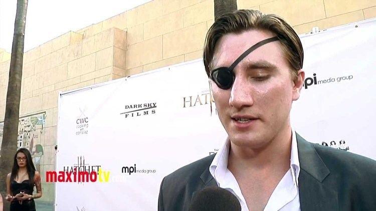 Jason Trost Jason Trost Interview HATCHET III Premiere Red Carpet