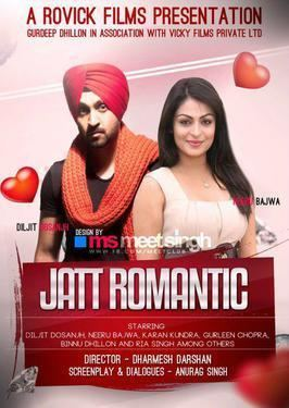 Jatt Romantic movie poster