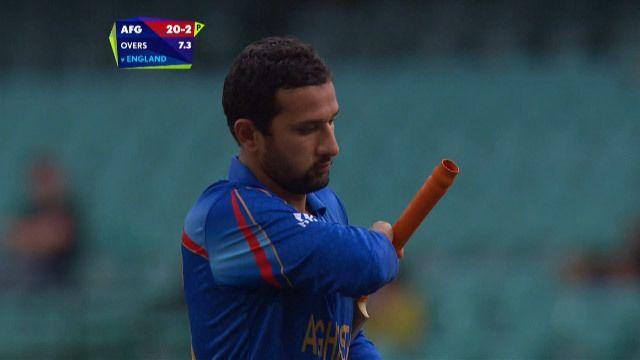 Javed Ahmadi Wicket SL vs AFG Videos ICC Cricket World Cup 2015