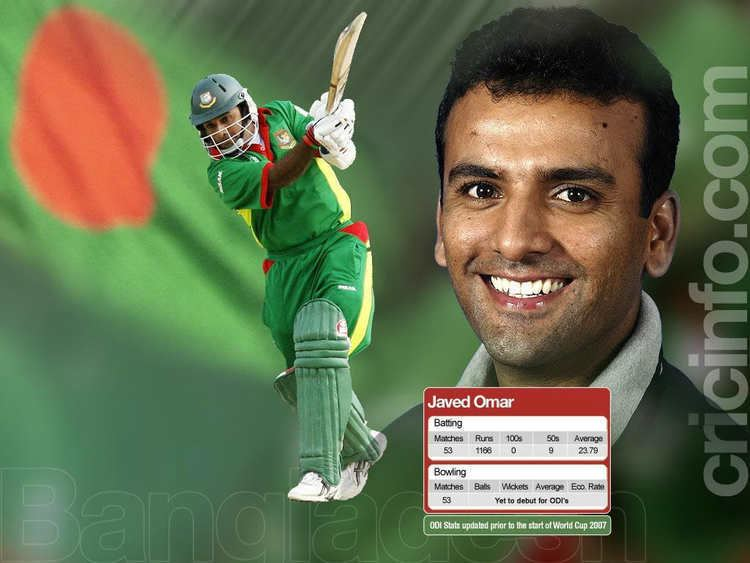 Javed Omar (Cricketer)