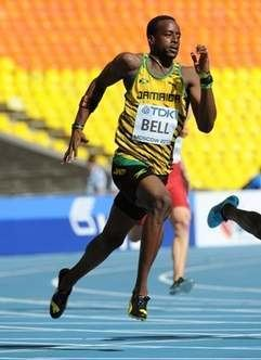 Javere Bell Javere Bell out of Jamaicas 4x400 team