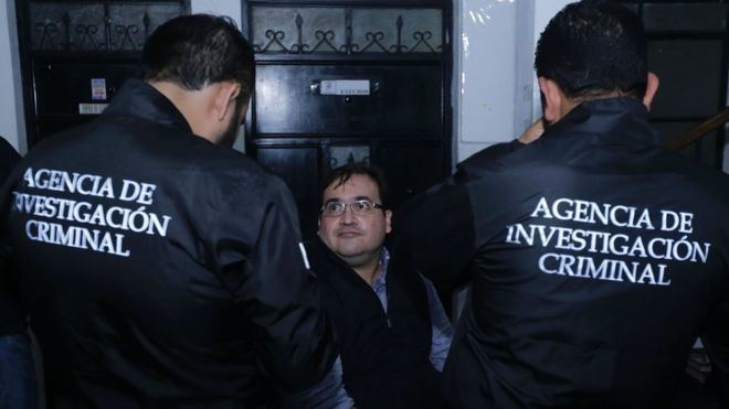Javier Duarte de Ochoa Fugitive Mexican governor Javier Duarte arrested in Guatemala BBC News