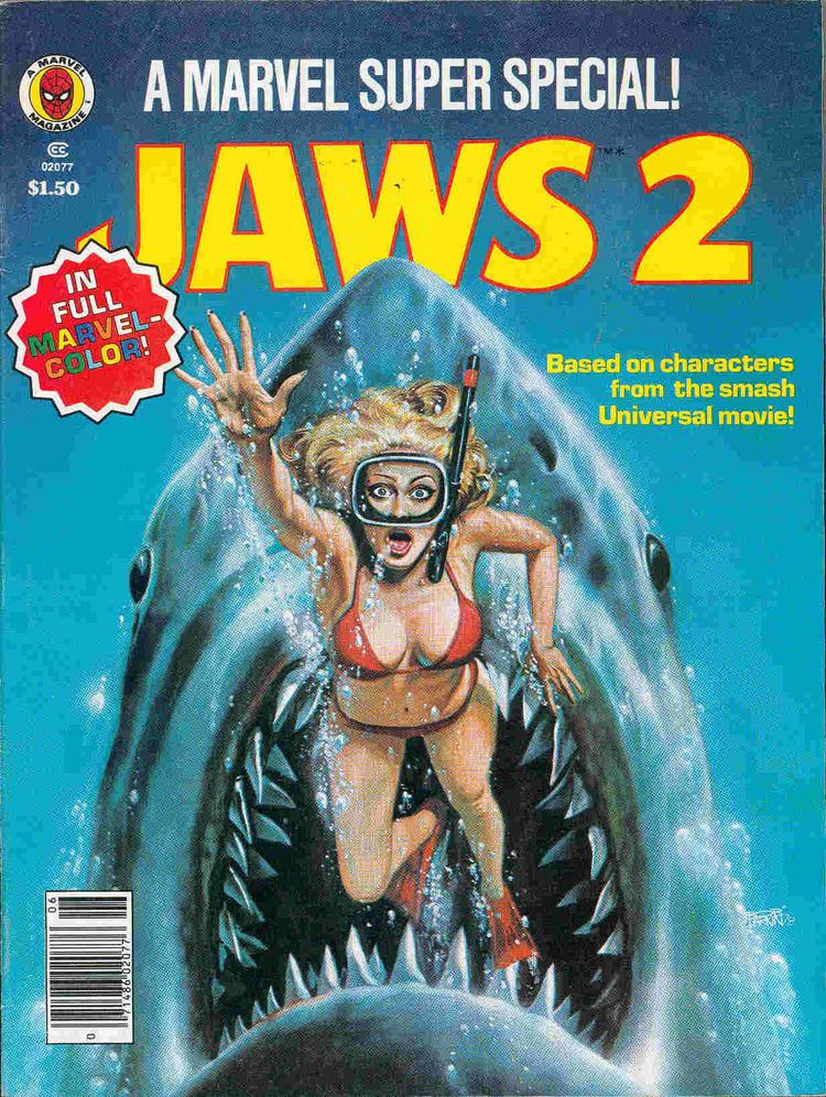 Jaws 2 REEL RETRO CINEMA Jaws 2 13th Dimension Comics Creators Culture