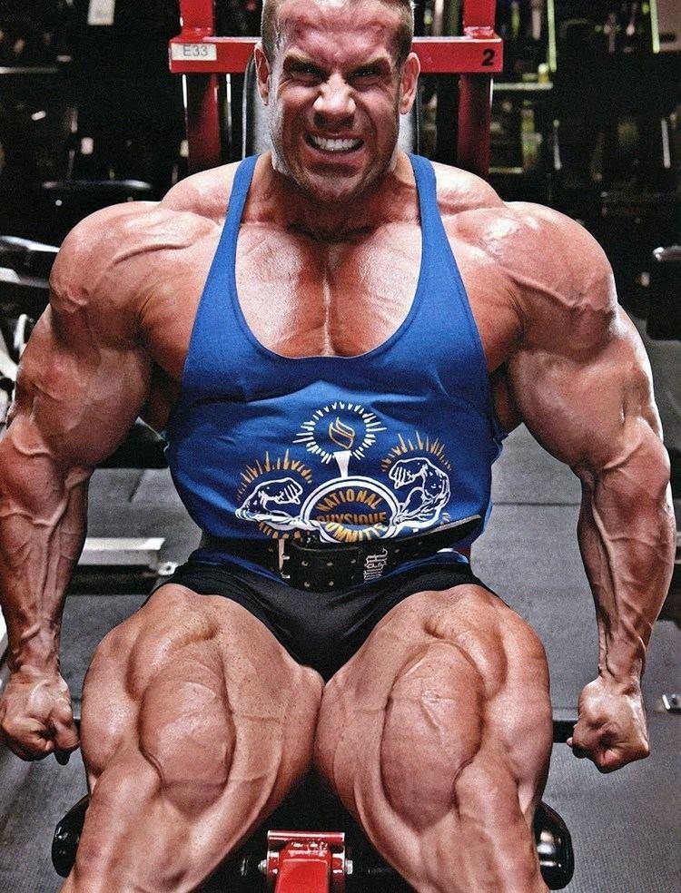 Bodybuilder Jay Cutler 2012