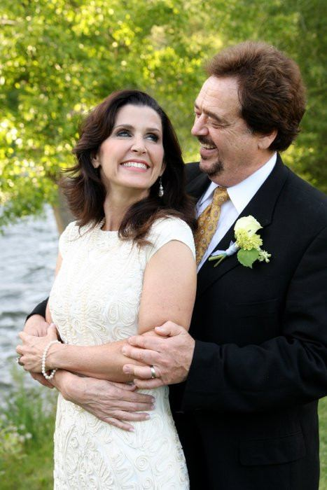 Karen & I wanted to share a wedding photo with you. Thank you for all of the great messages-we appreciate them!