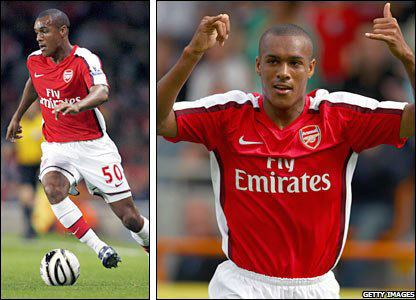 Jay Simpson BBC SPORT Football My Club Arsenal Arsenals young guns