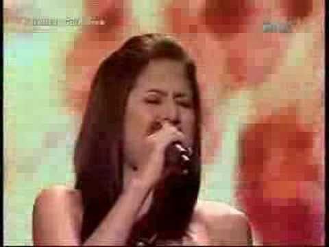 Jayann Bautista JayAnn Bautista Bleeding Love Pinoy Idol YouTube