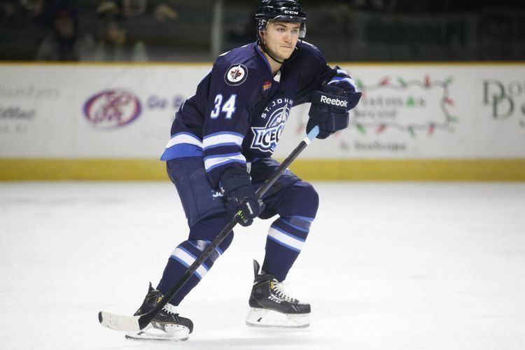 JC Lipon Winnipeg Jets Top 25 Under 25 15 JC Lipon Arctic Ice Hockey