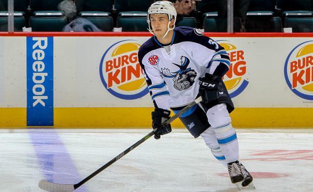 JC Lipon Jets recall JC Lipon from Moose Manitoba Moose