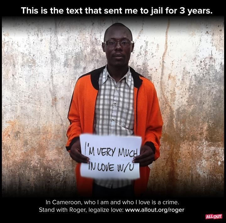 Jean-Claude Roger Mbede Homophobia victim Roger Mbede dies in Cameroon 76 CRIMES