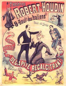 Jean Eugène Robert-Houdin Howard Thurston Master Magician wwwThurstonMasterMagiciancom