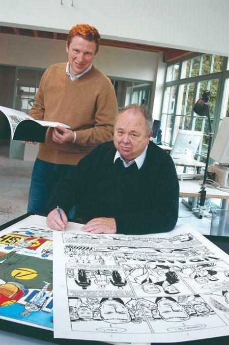 Jean Graton Philippe Graton quotNotre studio respecte le style Graton