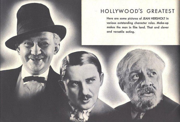 Jean Hersholt Jean Hersholts Album Of Hollywood Stars