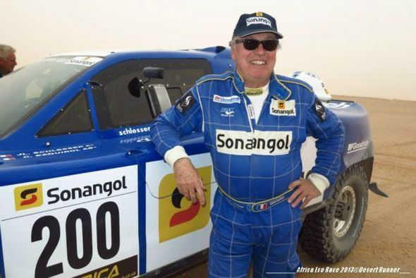 Jean-Louis Schlesser ON THE SEVENTH DAY THE SONANGOLSCHLESSER BUGGY PULLED