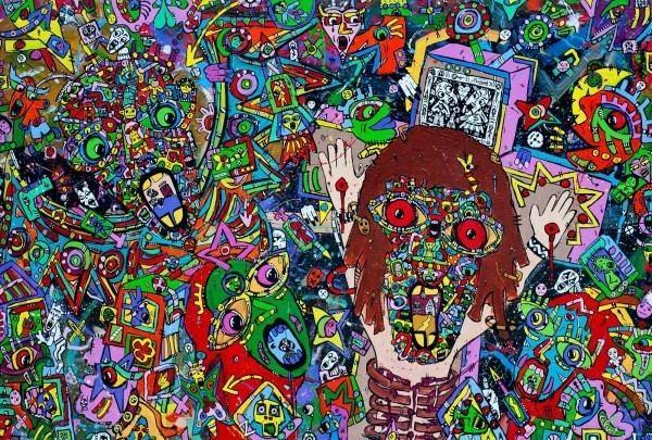 Jean Marc Calvet JeanMarc Calvet contemporary artist French Nicaraguan painter