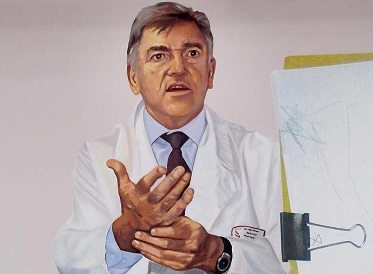 Jean-Michel Dubernard Fresque Portrait et biographie de Dubernard JeanMichel