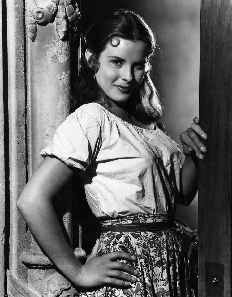 Jean Peters Captain From Castile