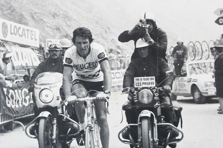 Jean-Pierre Danguillaume Danguillaume le conqurant bicyclette JoulsTours