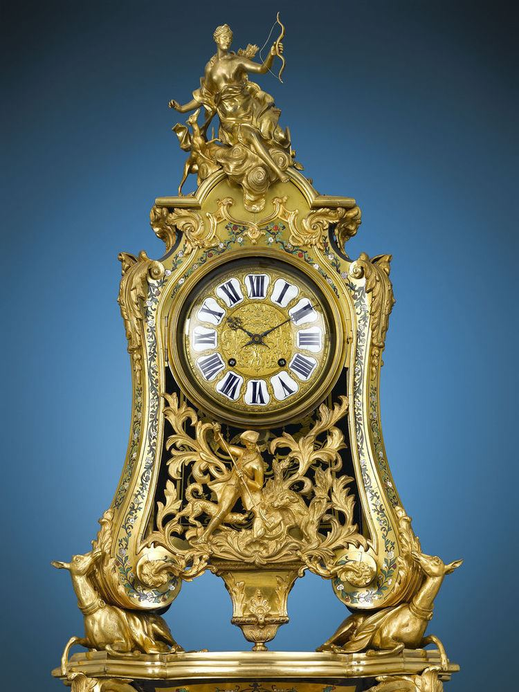 Jean-Pierre Latz The Name Says it All The Augustus III Clock by JeanPierre Latz