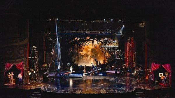 Jean Rabasse Cirque Du Soleils IRIS Set design by Jean Rabasse SET DESIGN