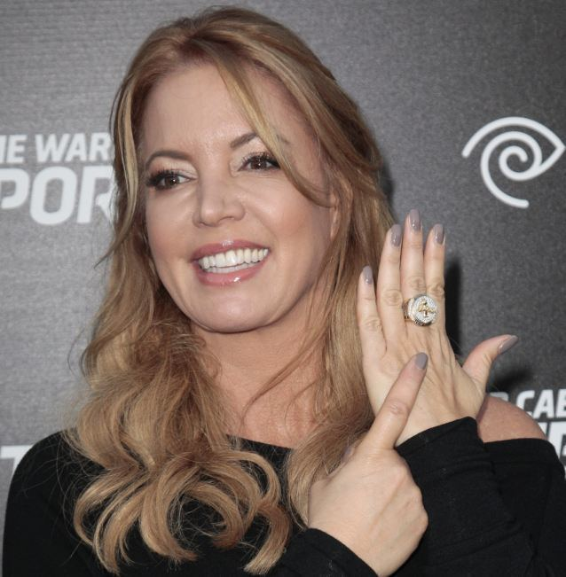 Jeanie Buss Jeanie Buss and Phil Jackson NBA coach and Lakers