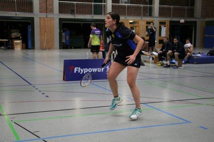 Jeanine Cicognini Baku 2015 badminton Jeanine Cicognini testa di serie in