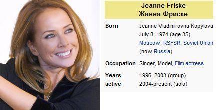 Jeanna Friske NEW DOLL ON STARDOLL IS ZHANNA FRISKE Stardolls Most Wanted