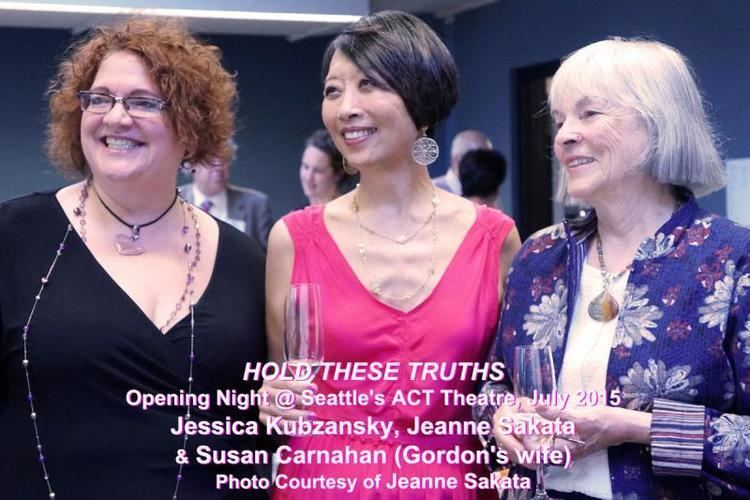 Jeanne Sakata Interview Jeanne Sakata Spreading the Truth With HOLD THESE TRUTHS
