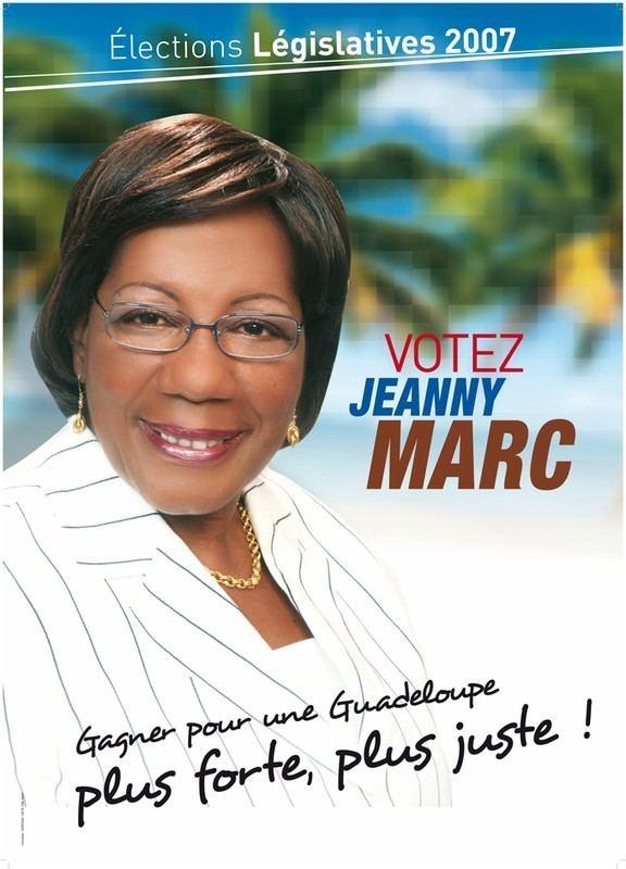 Jeanny Marc affiches Photo de Les supports de la campagne des