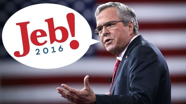 Jeb Bush Jeb Bush Unveiled His 2016 Logo and the Internet Shouted