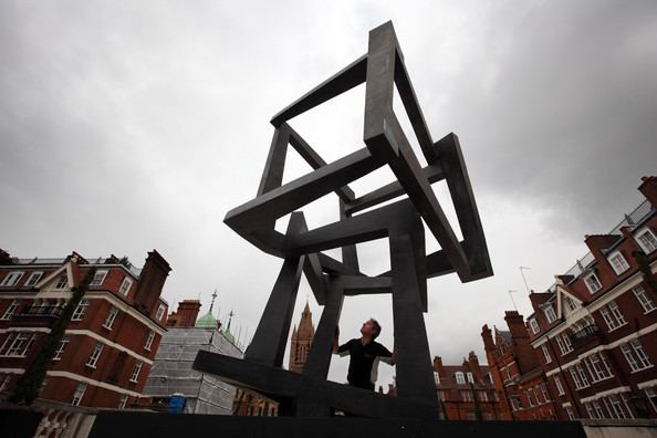 Jedd Novatt Jedd Novatt Work Is Installed In Mayfair As Part Of The