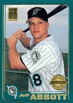 Jeff Abbott (baseball) Baseball Card Database Jeff Abbott 2001