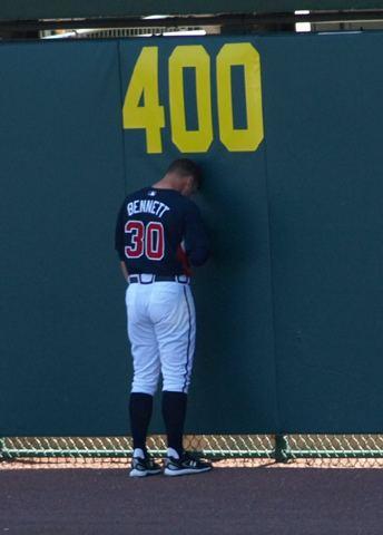 Jeff Bennett (baseball) Atlanta Braves The World of Willo
