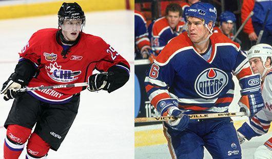 Jeff Beukeboom 4 Jeff amp Brock Beukeboom Edmonton Oilers Top 5