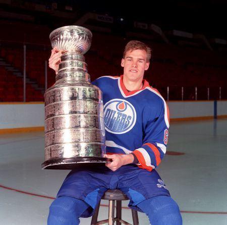 Jeff Beukeboom 198687 Jeff Beukeboom Edmonton Oilers Game Worn Jersey