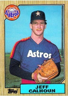 Jeff Calhoun (baseball) Baseball Card Database Jeff Calhoun 1987