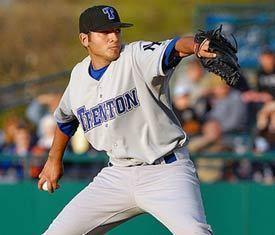 Jeff Marquez Jeff Marquezs major league rehab start for Trenton Thunder