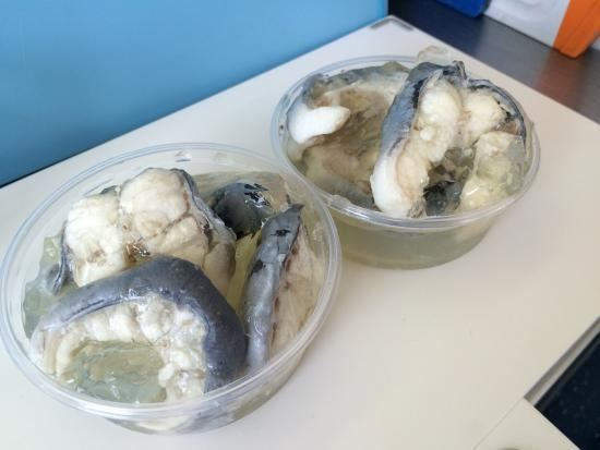 Jellied eels Jellied Eels Picture of Manning39s Seafood Stall Margate TripAdvisor