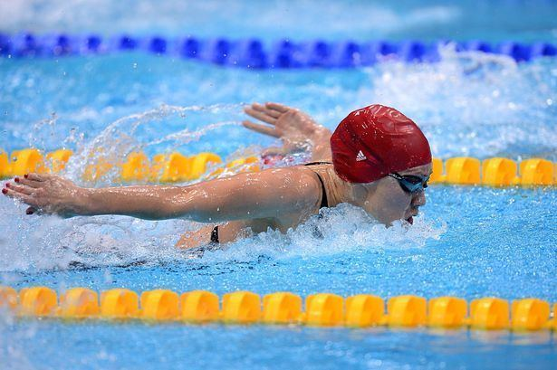 Jemma Lowe Swimming star Jemma Lowe forced to settle for silver lining at