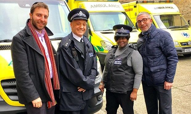 Jennette Arnold Politicians join police officers on the beat in Hackney Hackney