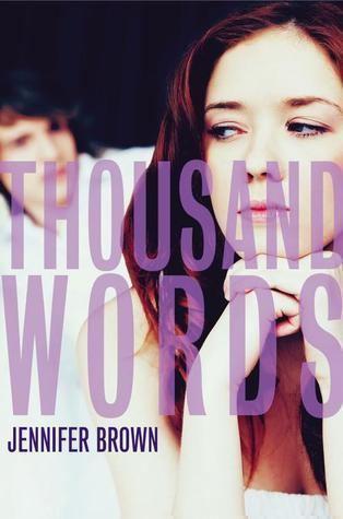 Jennifer Brown (author) Thousand Words by Jennifer Brown