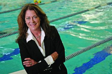 Jennifer Chandler Good as Gold A former Olympic diver now focuses her