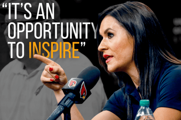 Jennifer Welter Jen Welter on Becoming NFL39s 1st Female Coach 39It39s an