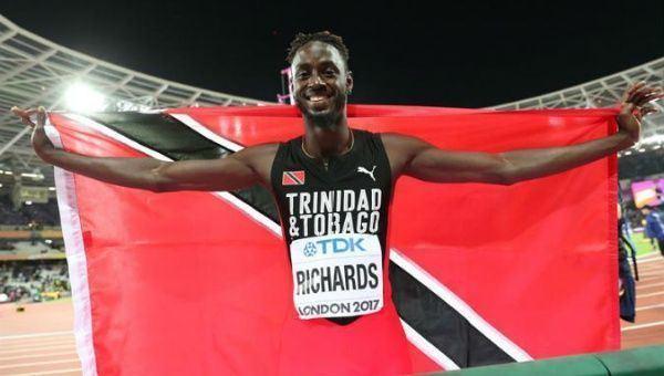 Jereem Richards Trinidads Jereem the Dream takes home Bronze at IAAF News