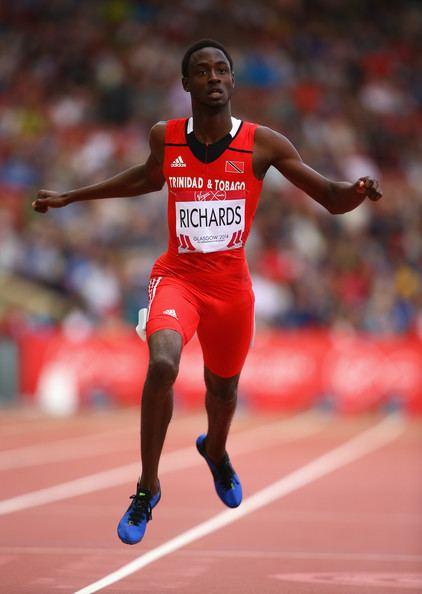 Jereem Richards Jereem Richards wins 200m at Southeastern Conference Trackalerts