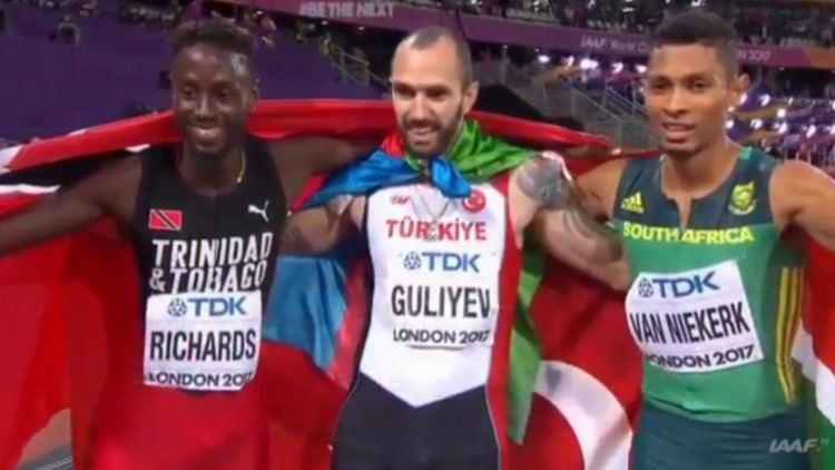 Jereem Richards WATCH Jereem Richards seals Bronze at IAAF Mens 200M final Loop News