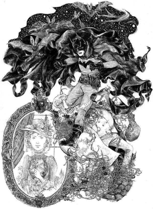 Jeremy Bastian comic Illustration Friday